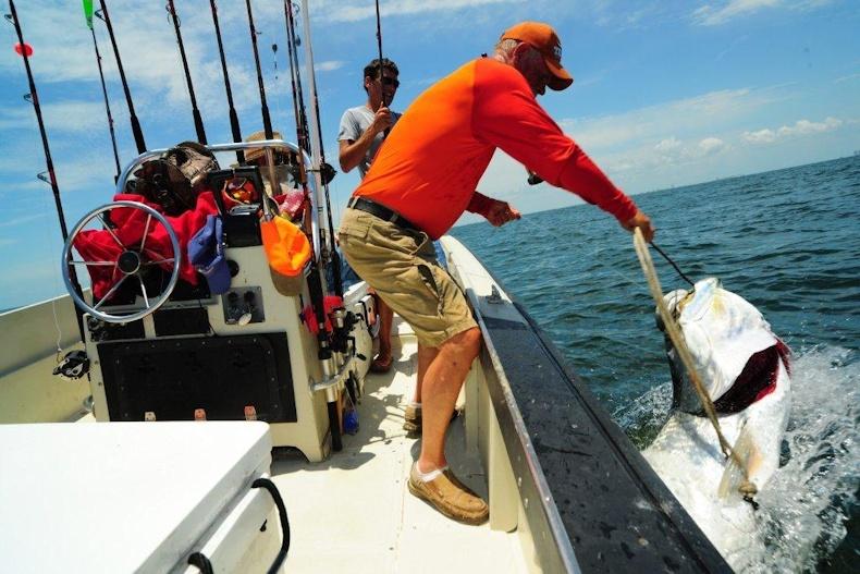 Galveston fishing guides the ironman for Galveston fishing tours